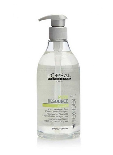 Loreal Professionnel Pure Resource Şampuan 500 Ml Renksiz